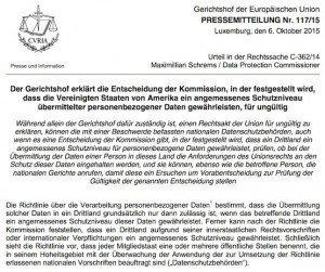 EuGH-Urteil, © Gerichtshof der Europäischen Union