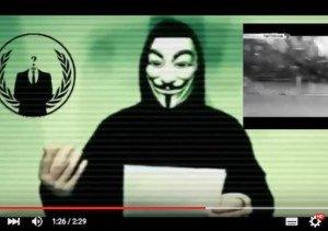 Cyberkriegserklärung, © Anonymous