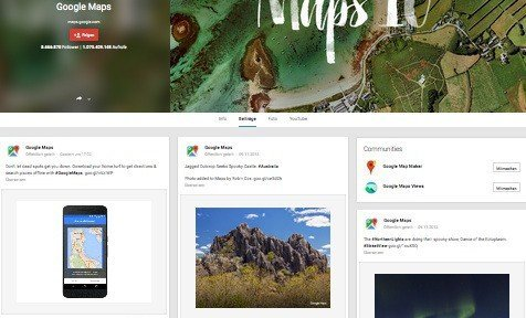 Offline-Karten, © Google Inc.