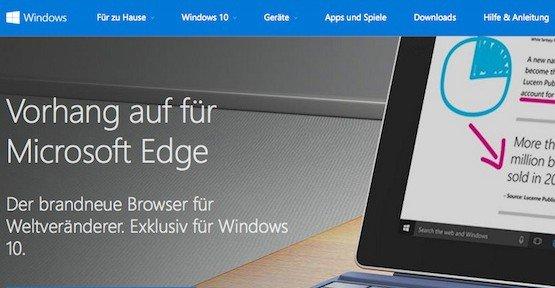 Edge, © Microsoft Corporation