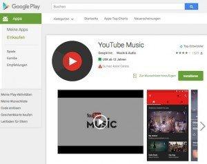 YouTube-Music-App, © Google Inc.