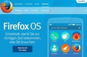 Firefox OS, ©Mozilla Foundation