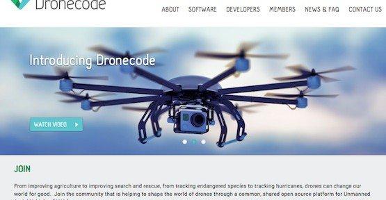 Linux für Drohnen, © Dronecode Project, Inc.