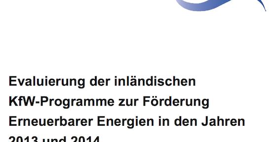 Erneuerbare EnergienHandwerk und Mittelstand profitieren vom EEG