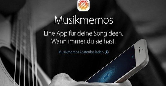Musikmemos, © Apple Inc.
