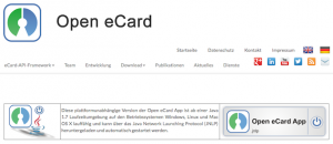 Client für Open eCard, © Open eCard Team