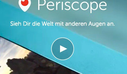 Video-LivestreamsPeriscope-App für das iPhone streamt GoPro-Videos