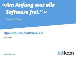 Leitfaden Open-Source-Software, © BITKOM