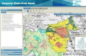Geoportal, © Rhein-Kreis Neuss