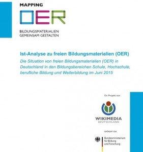Ist-Analyse zu freien Bildungsmaterialien (OER), © Wikimedia