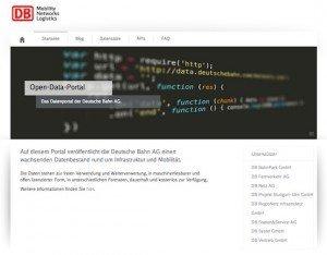 Open-Data-Portal, © Deutsche Bahn AG
