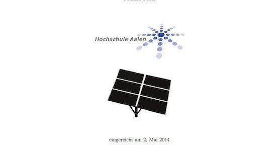OpenSunTracker (OST), © Daniel Stegmaier –HTW Aalen