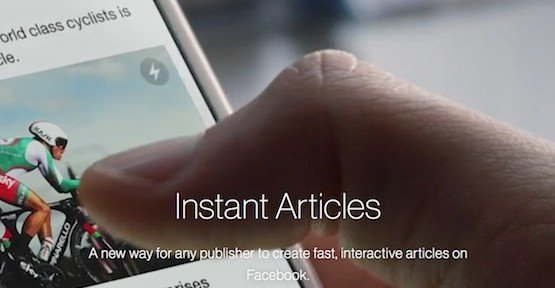 Facebook Instant Articles, © Facebook Inc.