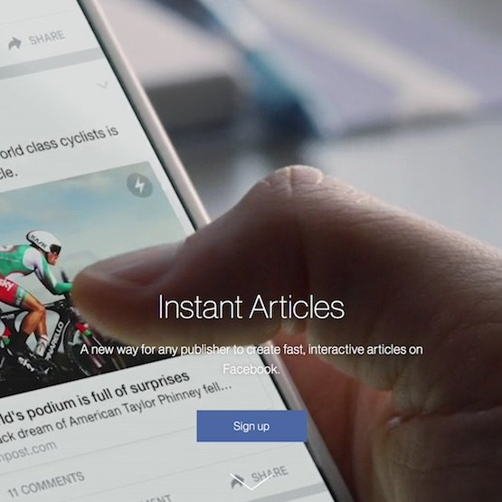 publishing articles on facebook