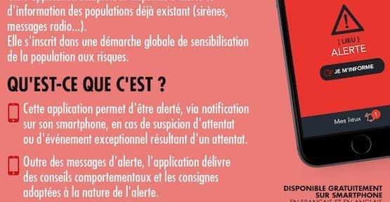 Système d'Alerte et d'Information des Populations, © Ministère de l'Intérieur