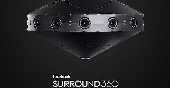 Surround 360, © Facebook