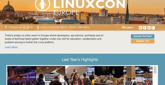 LinuxCon 2016, © Linux Foundation
