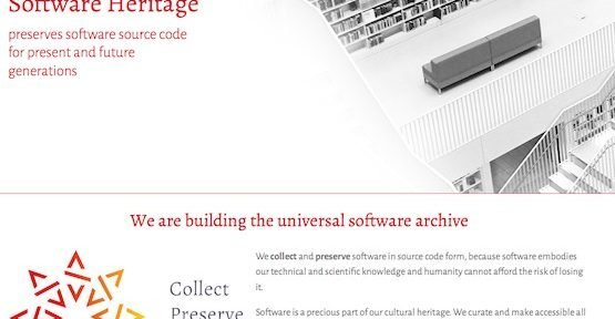 Software Heritage, © Inria
