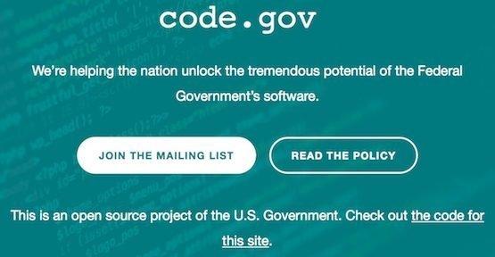 Open Source, ©code.gov