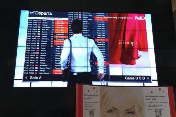 Neue Flat-Panel-Displays ermöglichen nahezu nahtlose Videowalls