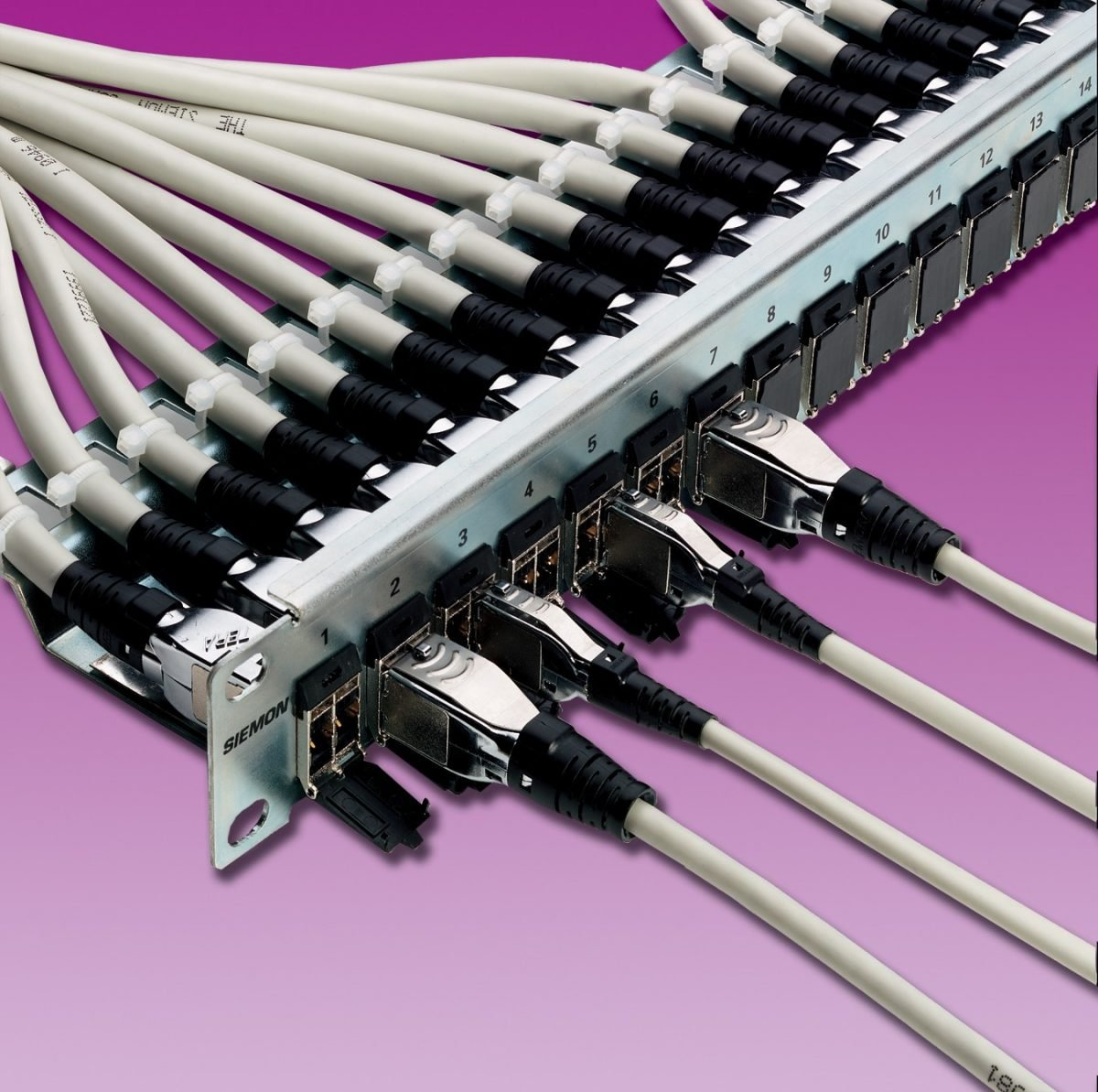 RechenzentrenAbgeschirmte End-to-End-Verkabelung ist nach ISO/IEC-11801-1 getestet