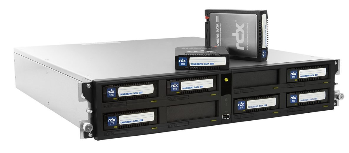 Tandberg DataTerabyte-Array speichert und archiviert Firmendaten