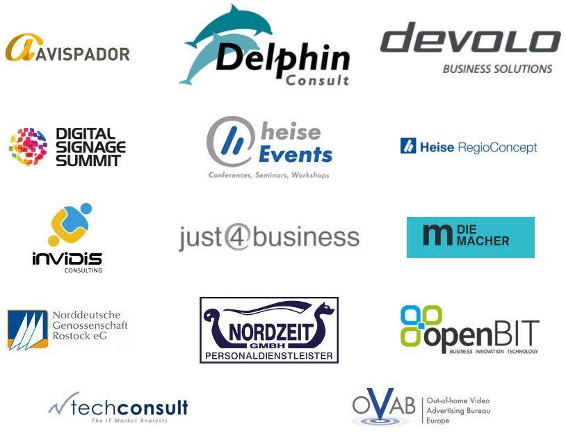 Alle Partner und Sponsoren auf einen Blick