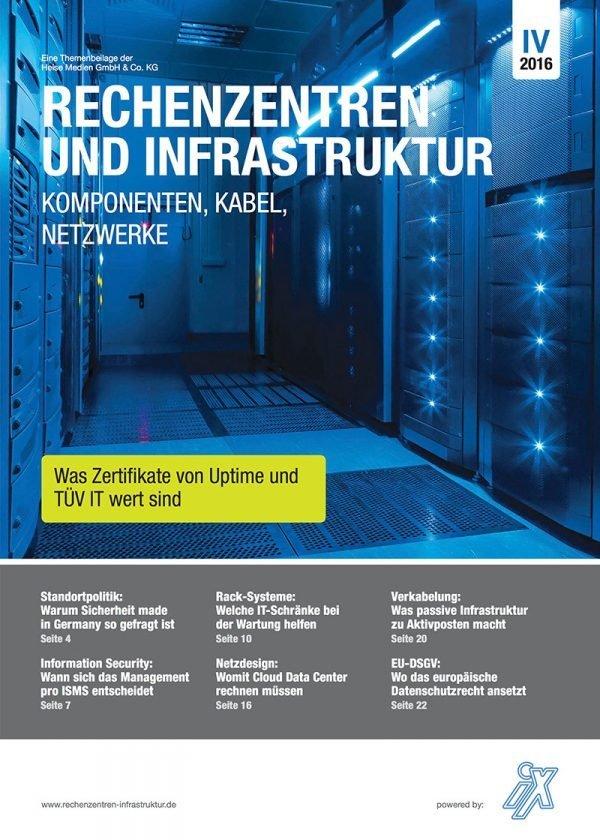 Heise-Beilage vergleicht TÜV IT und Uptime Institute