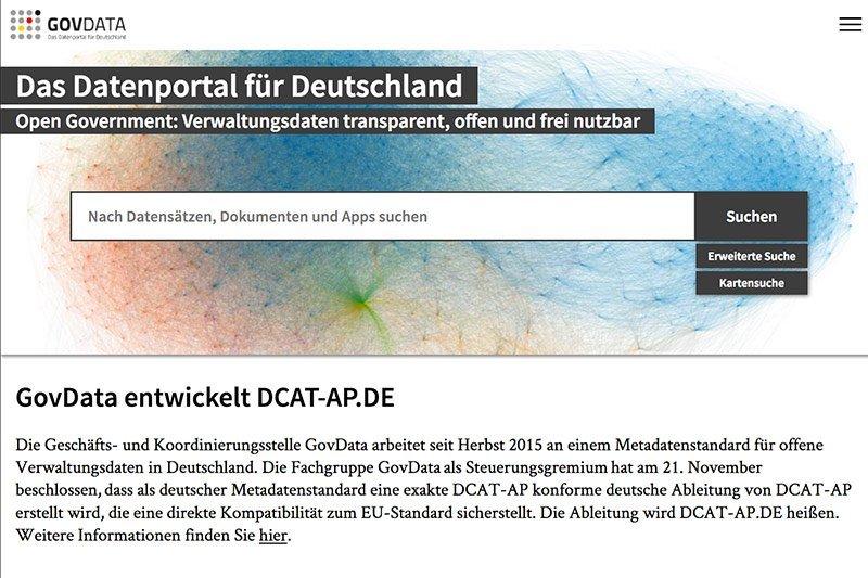 © Hamburger Finanzbehörde, Geschäfts- und Koordinierungsstelle GovData