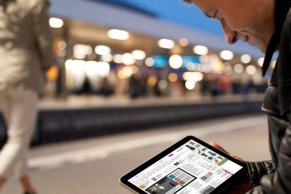 Fahrgäste bekommen gebündeltes Mobilfunk-WLAN