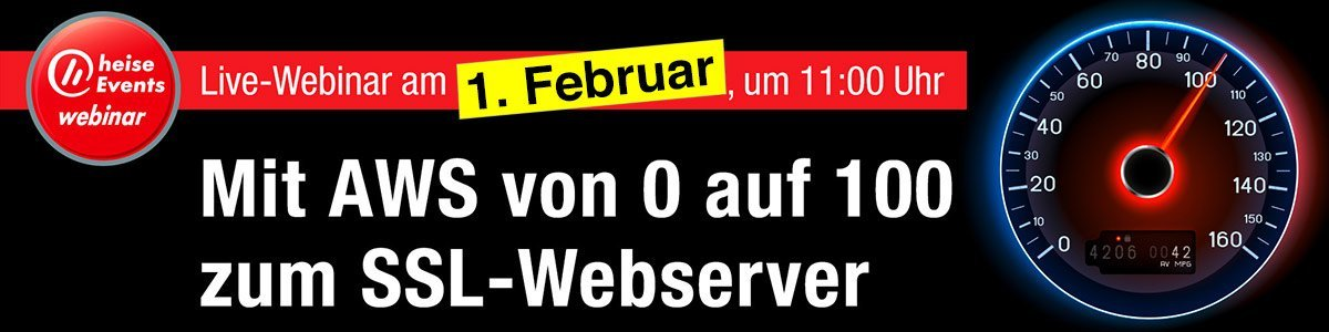 Mit AWS von 0 auf 100 zum SSL-Webserver