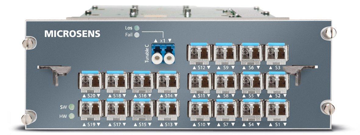 GlasfasernetzeLWL-Muxponder verdoppelt den Durchsatz
