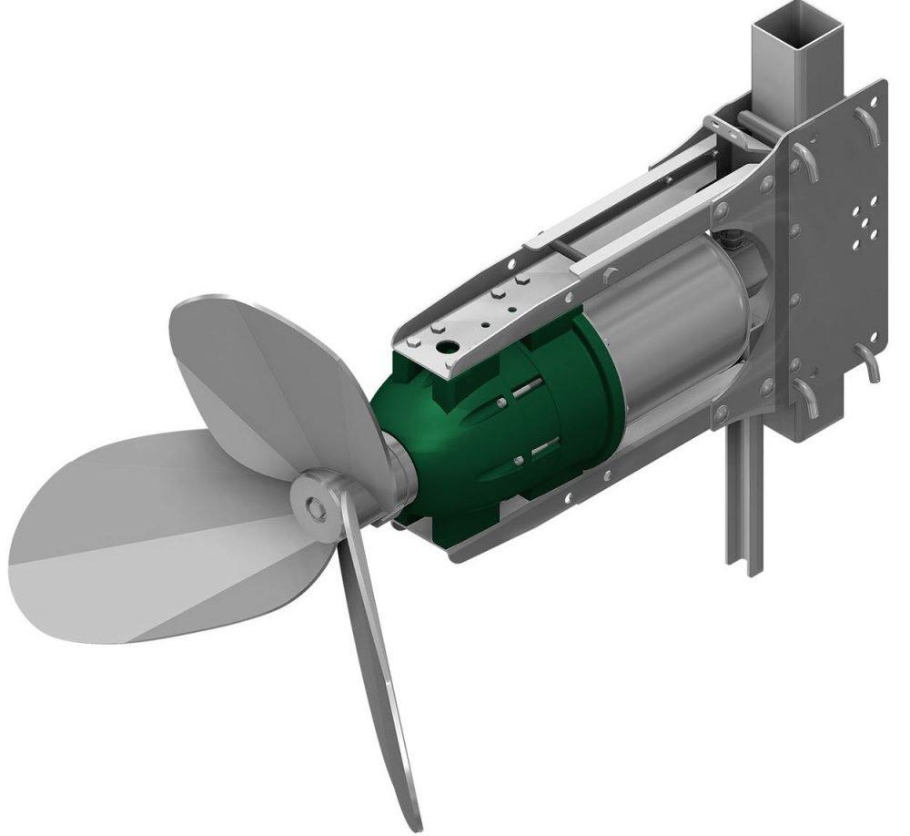 Biogas InfotageDurchdachte Edelstahlrührwerke arbeiten effizienter