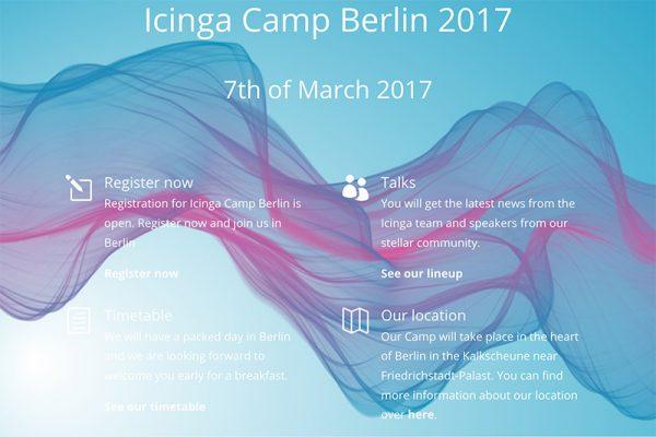 Das Icinga Camp bringt Anwender und Entwickler zusammen
