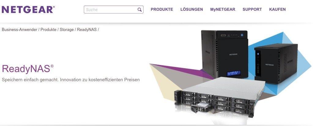 Network Attached StorageNeue ReadyNAS-Systeme richten sich am Bedarf im Mittelstand aus