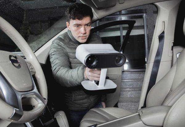 3D-Handscanner mit künstlicher Intelligenz erkennt Objekte automatisch