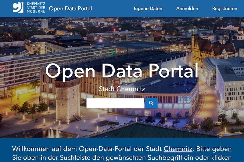 Open DataChemnitz startet ein offenes Stadtdatenportal