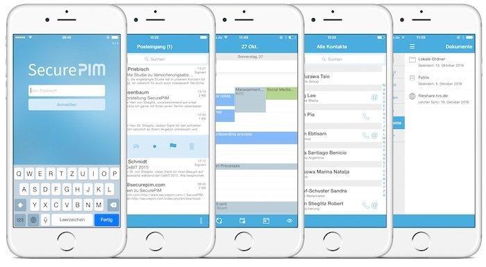 Mobile Device ManagementVerschlüsselungslösung hält Mobildaten sicher im Container