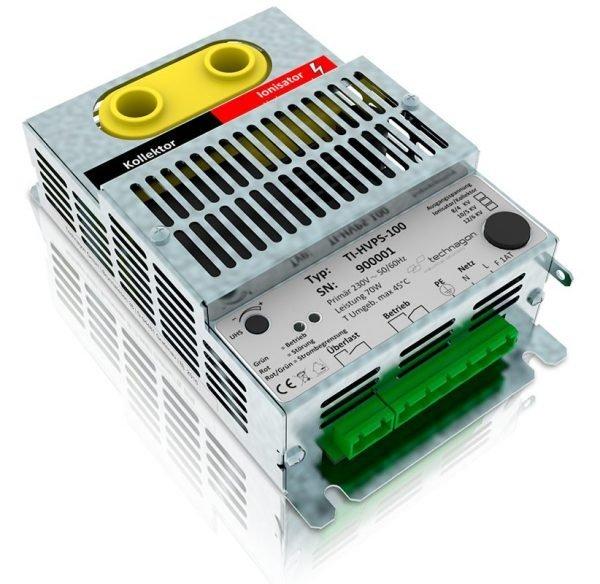 Stabiler Hochspannungserzeuger versorgt elektrostatische Luftfilter