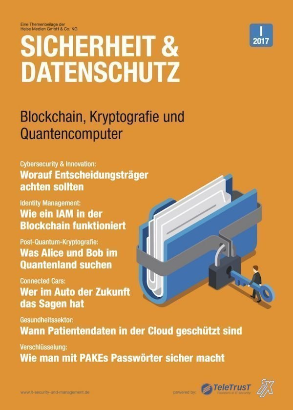 Heise-Beilage erklärt IT-Security in der Blockchain