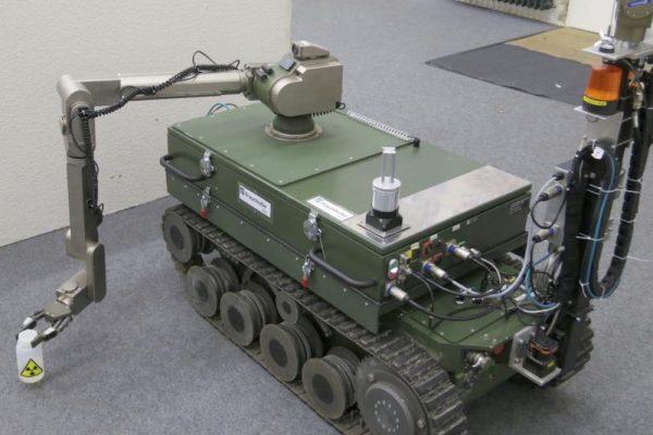 Autonome Roboter proben die Atomräumung