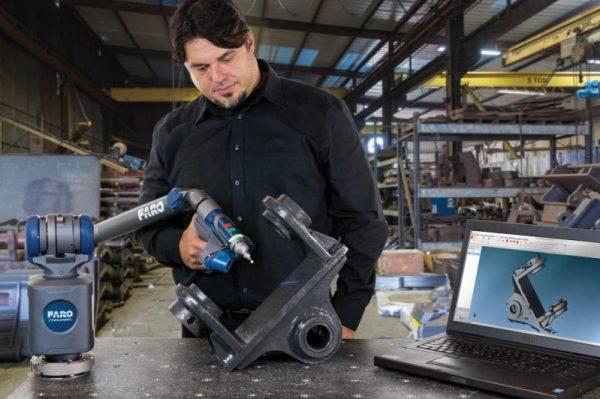 Der FaroArm QuantumS macht 3D-Messungen noch einfacher