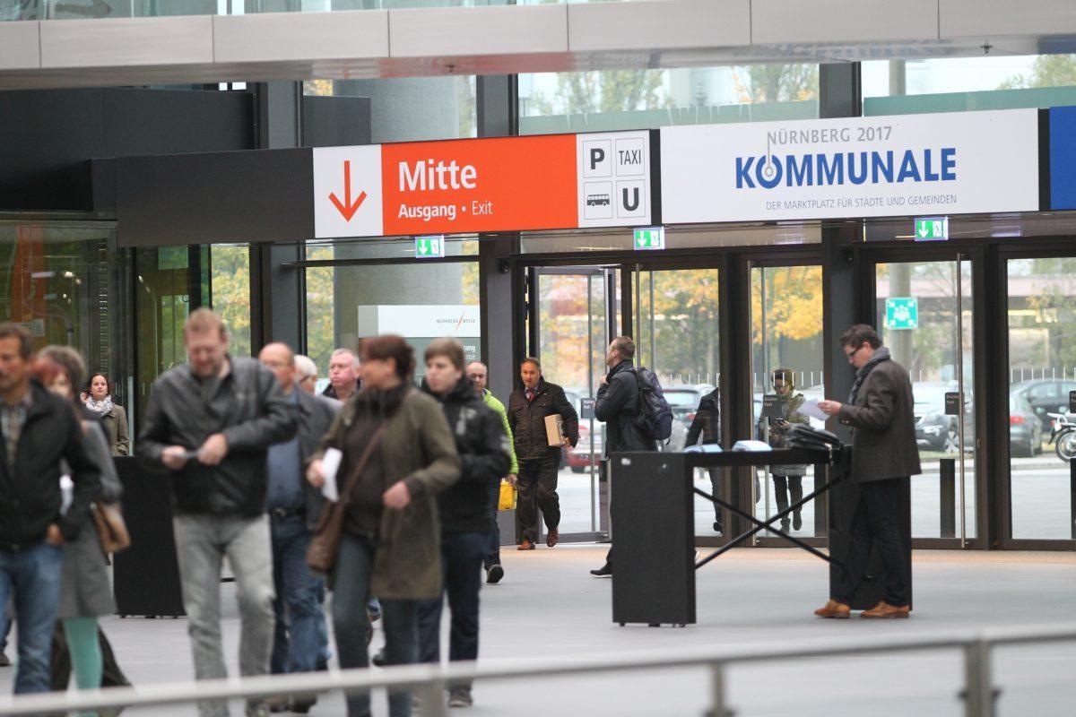 KOMMUNALE 2017Kommunale Entscheider und IT-Profis kommen nach Nürnberg
