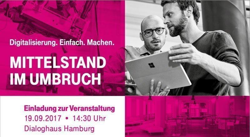 Mittelstand im UmbruchDie Telekom demonstriert, wie Digitalisierung klappt