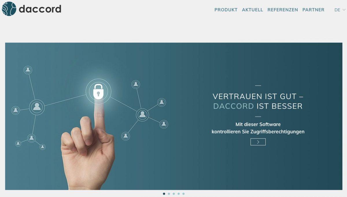 IdentitätsmanagementDas Update daccord 1.6.3 behält Zugriffsrechte im Griff