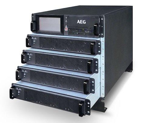 Unterbrechungsfreie StromversorgungModulare 19-Zoll-USV schützt kleinere Data Center