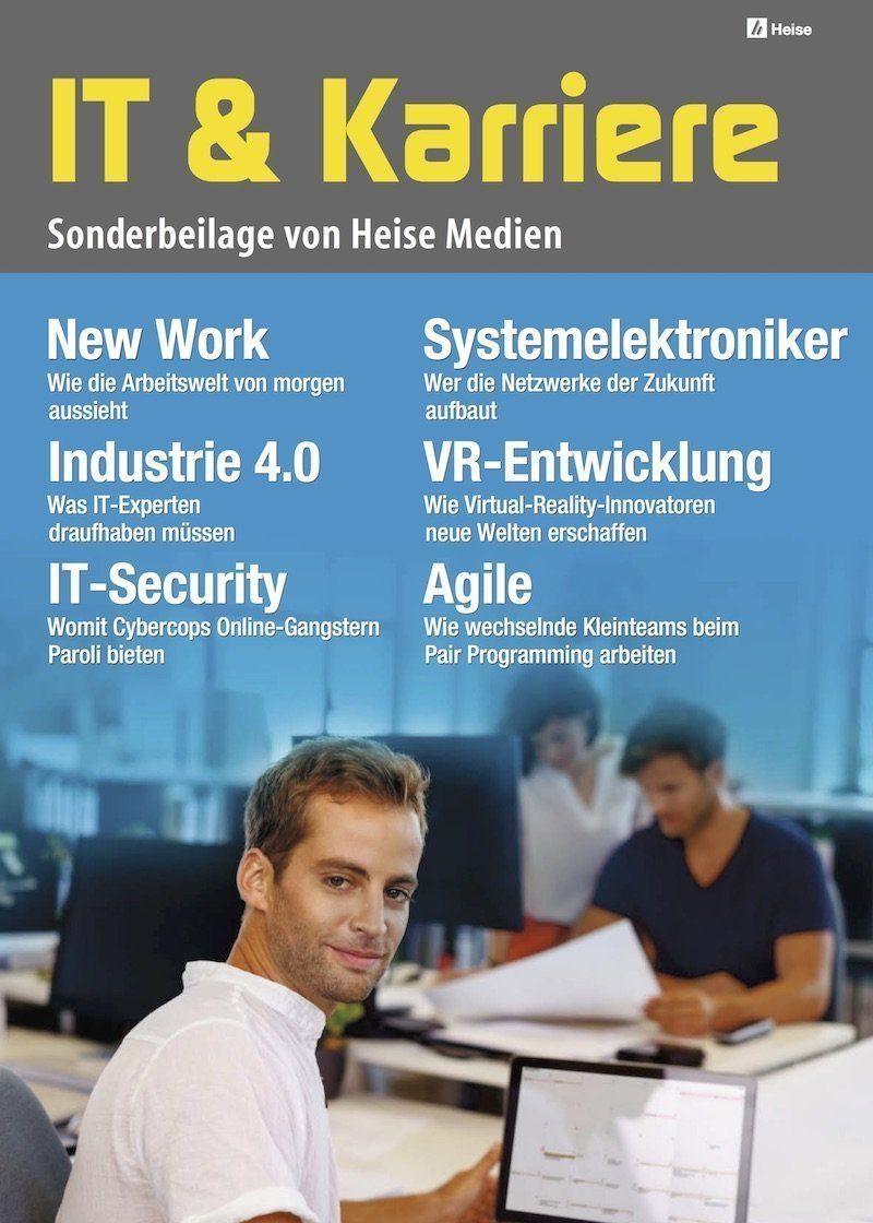 IT & Karriere 2/2017, © Heise Medien GmbH & Co. KG