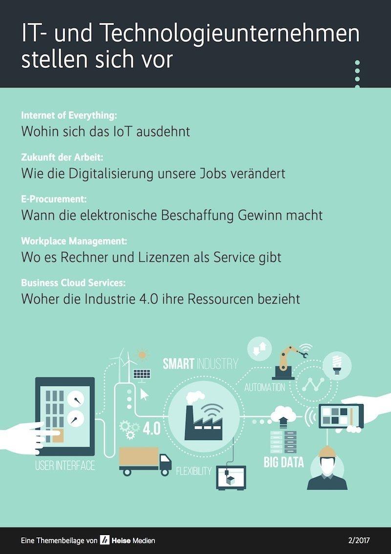 IT- und Technologieunternehmen stellen sich vor 2/2017