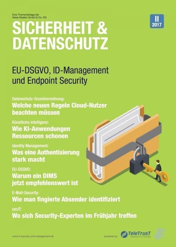 EU-DSGVO, Authentisierung und KI sind Schwerpunkte der jüngsten Heise-Themenbeilage