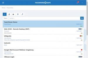 Password Safe v8.3 stellt auf WebClient um